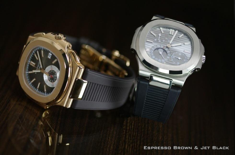 Patek Philippe Expresso Brown and Jet Black Bracelets