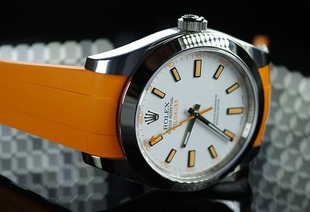 Rolex Milgauss in Orange