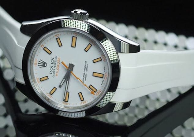 Rolex Milgauss in white