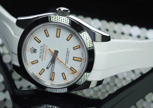 Rolex Milgauss in white