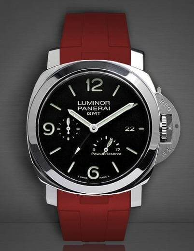 Rubber B Red Devil Strap for the PAM00653