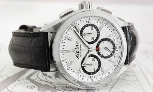 Alpiner 4 Manufacture Flyback Chronograph Reference AL-760SB5AQ6