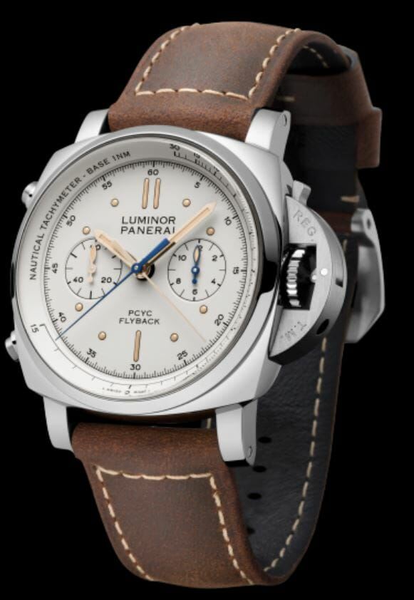 Panerai Luminor 1950 PCYC 3 Days Chrono Flyback Automatic Acciaio - 44mm – Reference PAM00654