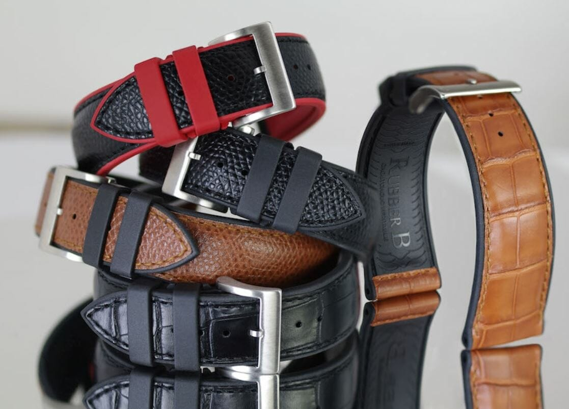 6 Leather Straps for the Alpiner 4 Manufacture Flyback Chronograph Reference AL-760SB5AQ6