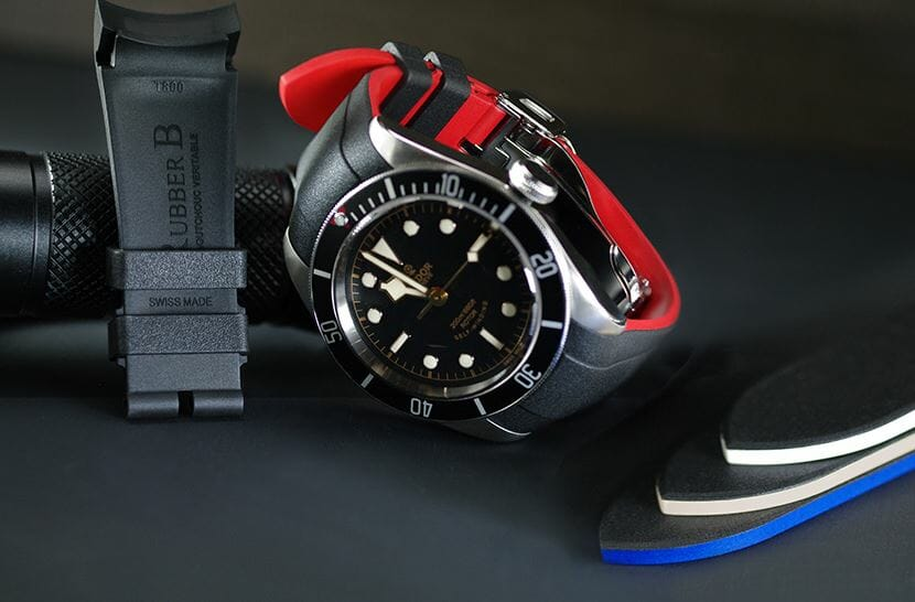 Vulcanized two-tone Rubber Bands for Tudor