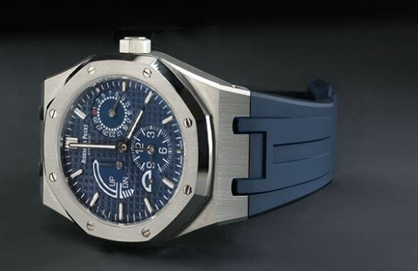 AP Royal Oak Blue Rubber B Velcro band