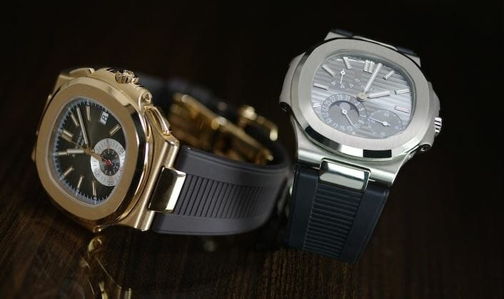 7 Rubber B Bracelets for the Patek Philippe Nautilus 5712