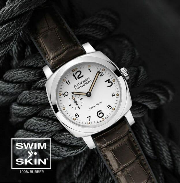 Panerai Luminor 1950 with Swim Skin Watch Band