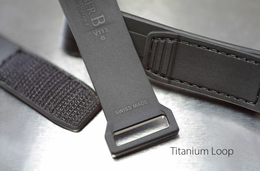 Velcro Strap for the Rolex Submariner with Titanium Loop