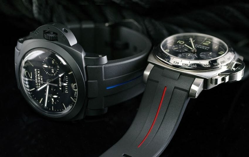 Dual Color bands for the Panerai Luminor Submersible Automatic Acciaio 44mm reference PAM01024