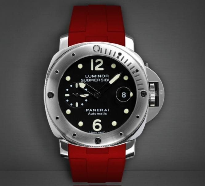 Red Band for the Panerai Luminor Submersible 44mm Reference PAM01024