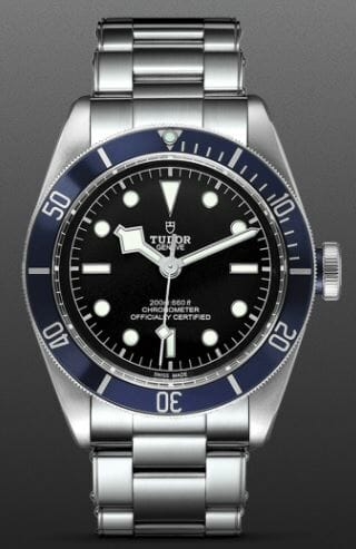 Tudor Heritage Black Bay Reference M79230B-0008