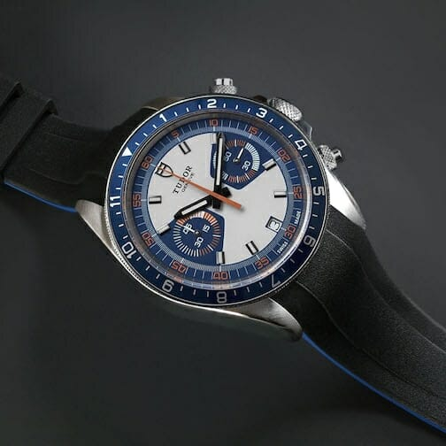 Tudor Heritage Chrono blue watchband