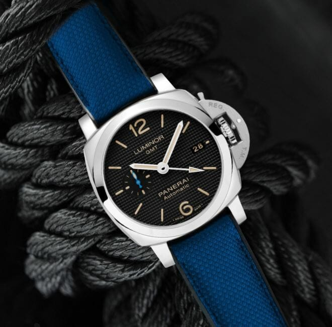 Blue Designer Bracelet for the Panerai Luminor Marina