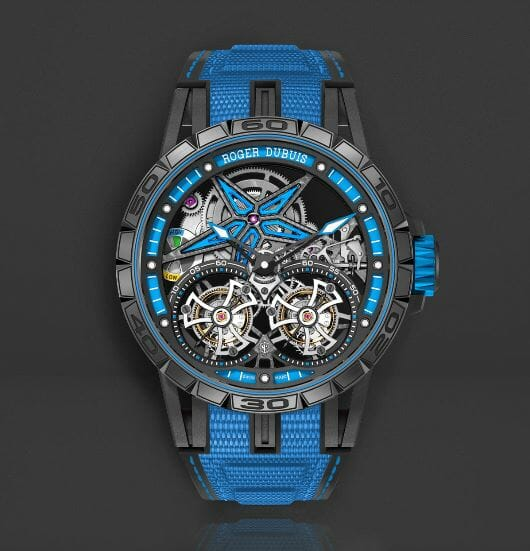 Roger Dubuis Excalibur Spider Pirelli- Double Flying Tourbillon Reference RDDBEX0599
