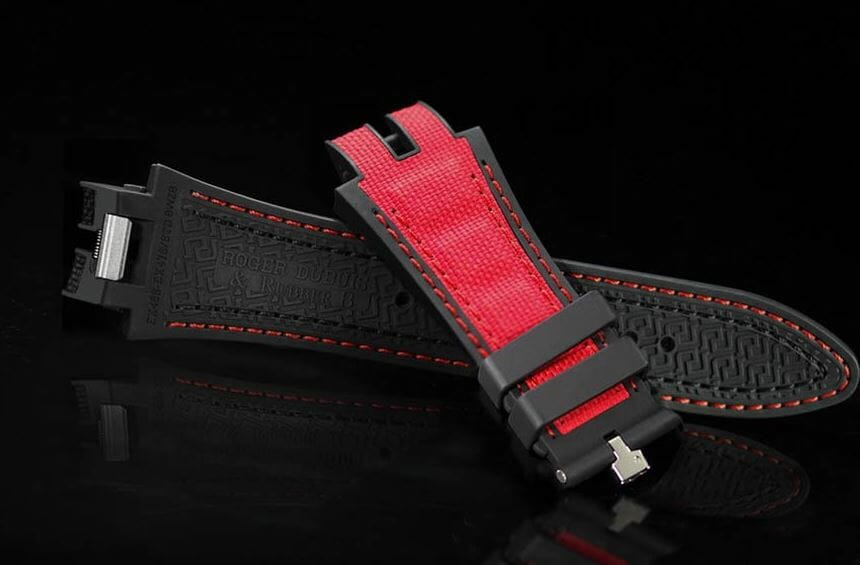 Replacement straps for Roger Dubuis
