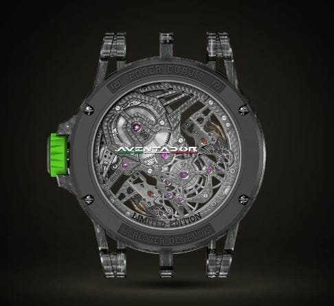 Roger Dubuis Excalibur Aventador S Reference RDDBEX0653 - Back