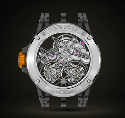 Roger Dubuis Excalibur Spider Reference RDDEX0589 - back