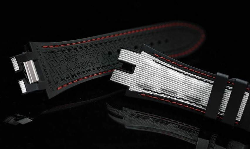 Designer Replacement Watch Bands for the Roger Dubuis Excalibur Huracán Reference RDDBEX0748