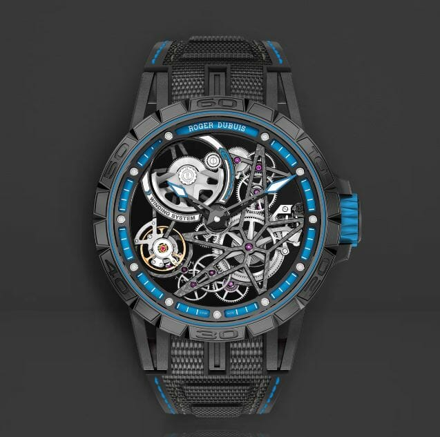 Designer Blue Straps for the Roger Dubuis RDDBEX0575