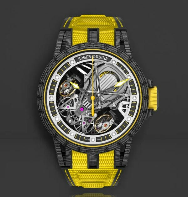 Roger Dubuis RDDBEX0613 with Yellow Bracelet