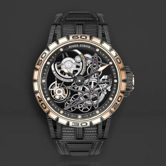 Roger Dubuis RDDBEX0615 with Black Bracelet