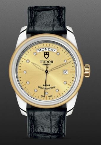 Tudor Glamour Day Date Ref 56003