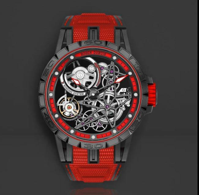 Roger Dubois RDDBEX0617 Red Strap