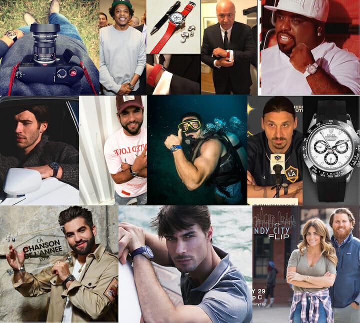 Rubber B Celebrities fans