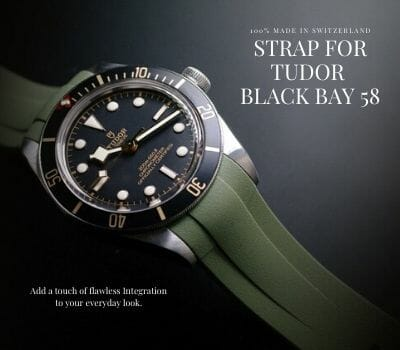 The Ultimate Tudor Black Bay 58 Diving Watch Straps