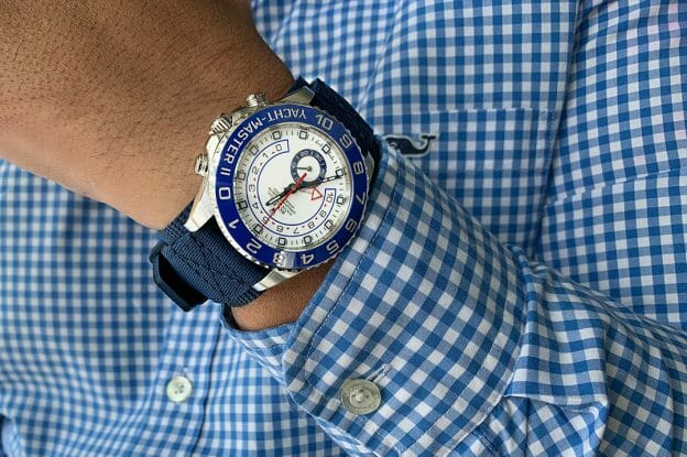 yachtmaster rubber cuff