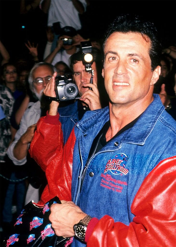 Sylvester Stallone and his Journey with Panerai in ...