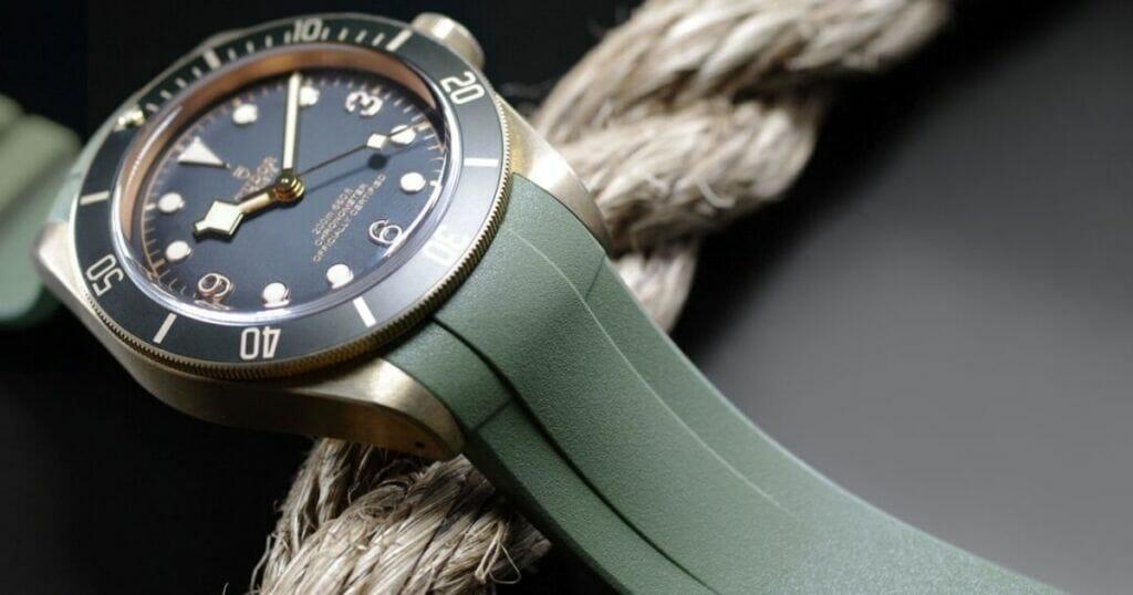 Beautiful Custom Bracelets for the Tudor Black Bay Bronze (Reference 79250BA)