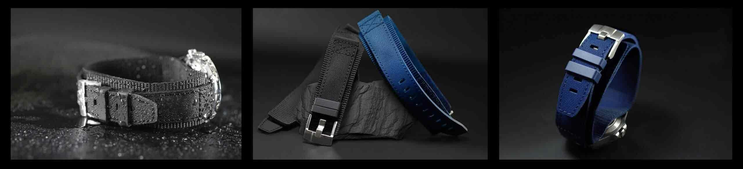Tang Buckle Rubber Cuff Series