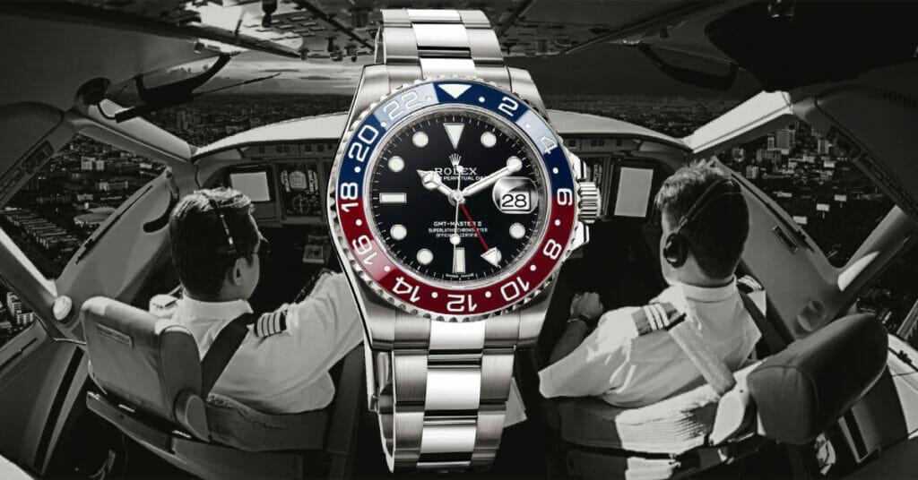 Rolex GMT-Master Pepsi Watch