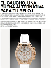 GQ México - Rolex Watch Bands