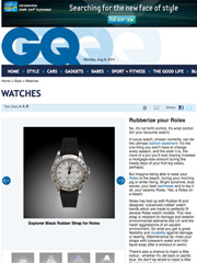 GQ India - Rolex Watch Bands
