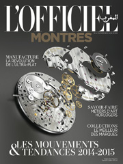 L'Officiel May 2014 - Rubber Rolex Strap