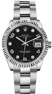 Oyster Perpetual Date 34mm  (19mm lug space)