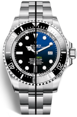 DEEPSEA Sea-Dweller 44mm / ref. 116660