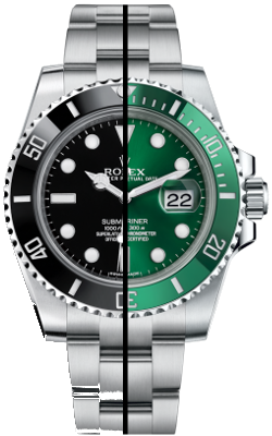 Submariner Ceramic Glidelock Clasp