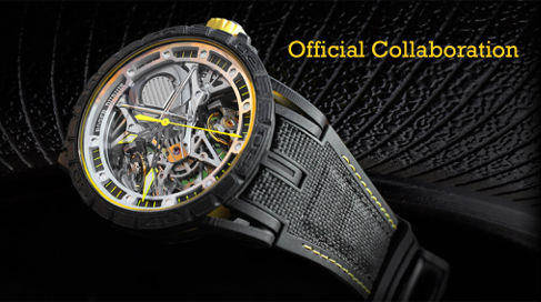 Rubber B Straps for Roger Dubuis Official