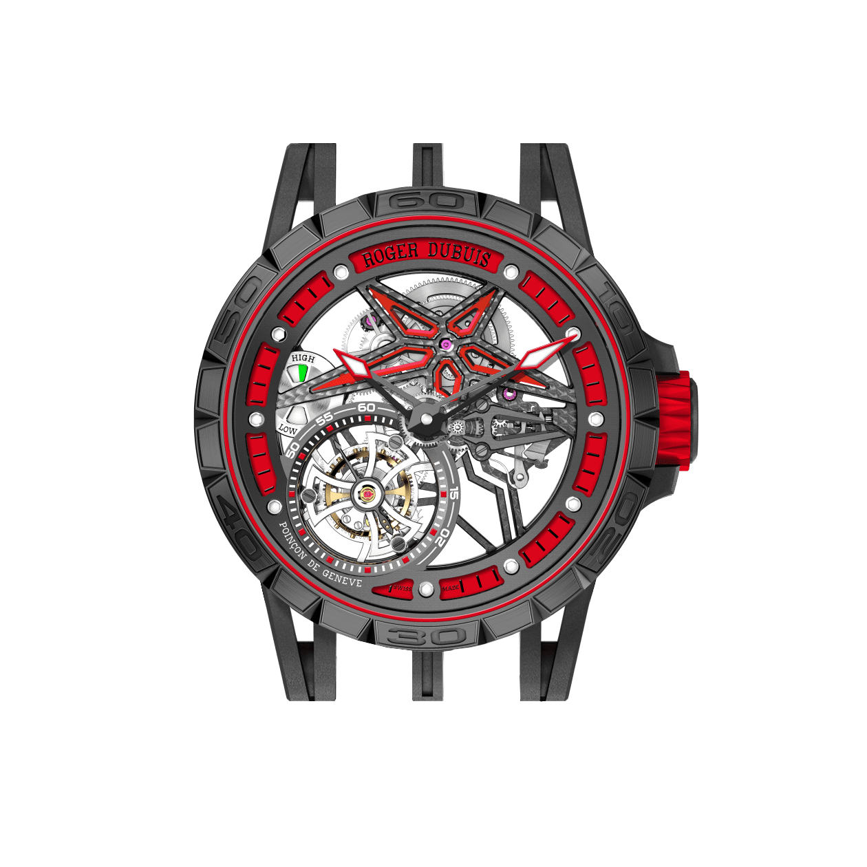 Bracelets for the Roger Dubuis Excalibur Spider Pirelli Pitstop