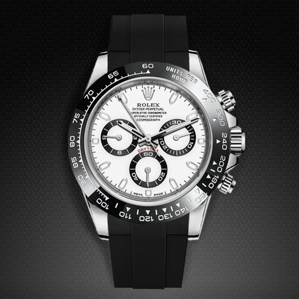 Strap For Rolex Daytona Oyster Bracelet Ceramic Bezel