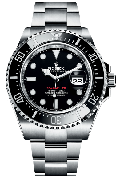 Sea-Dweller 43 Ceramic w/ Glidelock 43mm / ref. 126600