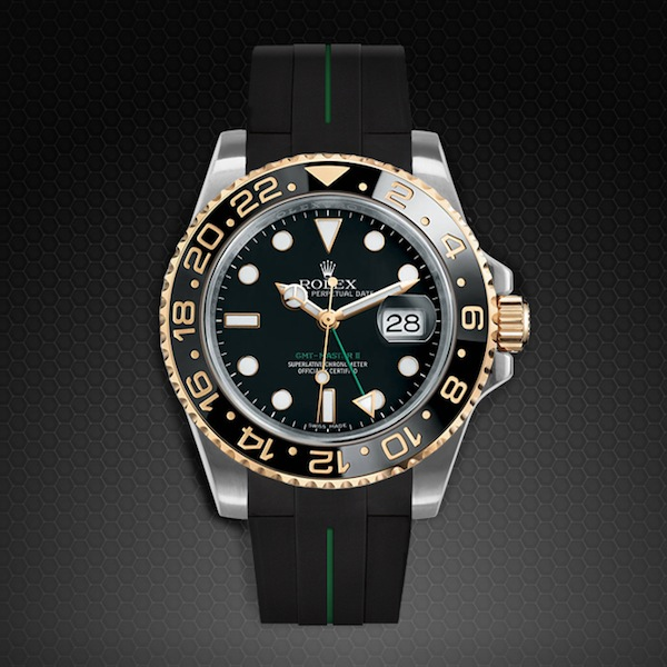 Strap For Rolex Gmt Master Ii Ceramic Tang Buckle Series