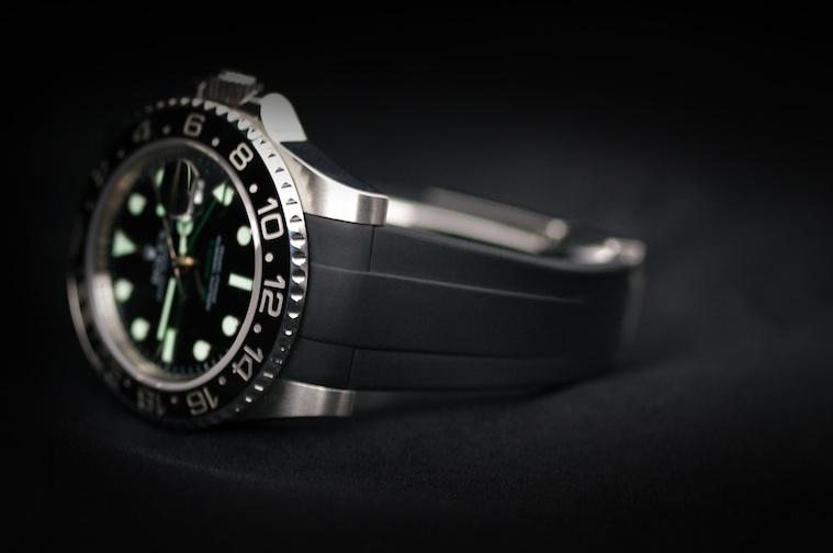 Strap For Rolex Sea Dweller Classic Series Rubber B