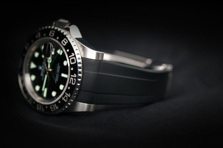 Strap For Rolex Gmt Master Classic Series Rubber B