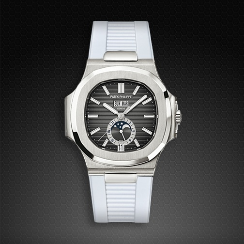 Strap For Patek Philippe Nautilus 5726a Ss Rubber B