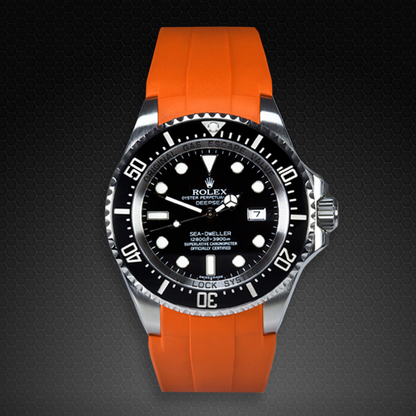 Strap For Rolex Deepsea Sea Dweller Flared Tang Series